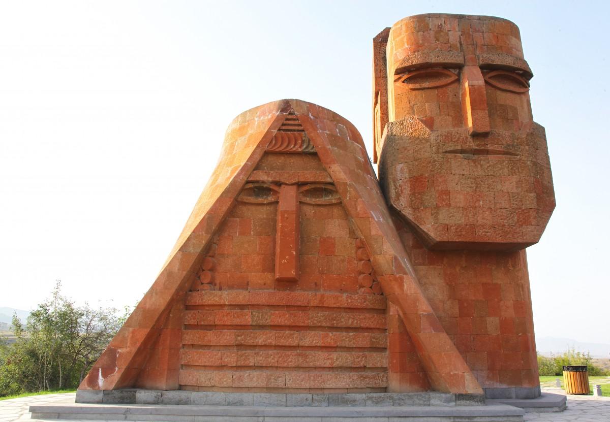 Zdjęcia: ., Stepanakert, My i nasze góry lub Babcia i Dziadek, GÓRSKI KARABACH