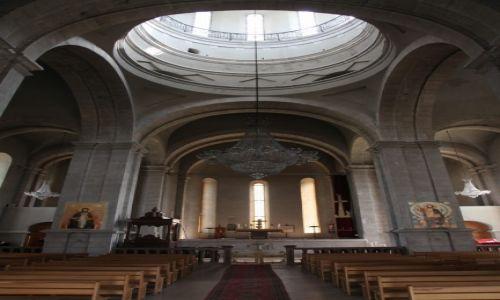 Zdjecie GÓRSKI KARABACH / Region Szuszi / Szuszi / Wnętrze katedry Ghazanchetsots