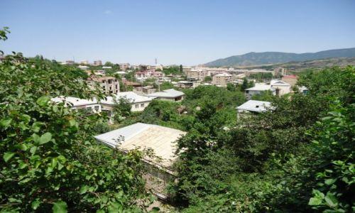 GÓRSKI KARABACH / Stepanakert / Stepanakert / Panorama Stepanakertu