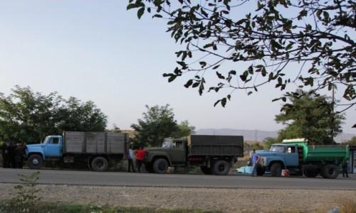 Zdjecie G�RSKI KARABACH /  Region Szuszi  / W drodze do  Stepanakert  / M�j transport