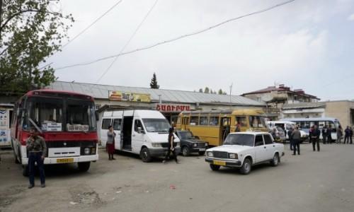GÓRSKI KARABACH / - / Stepanakert / Dworzec autobusowy w Stepanakercie