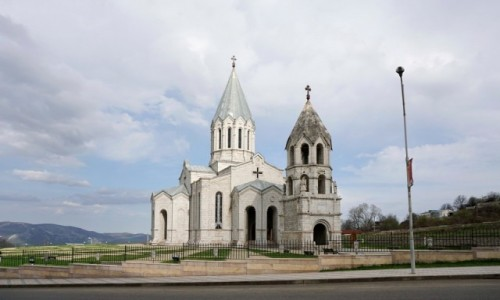 Zdjecie GÓRSKI KARABACH / - / Szusza / Katedra Ghazanczecoc (Katedra Chrystusa Zbawiciela) w Szuszy.
