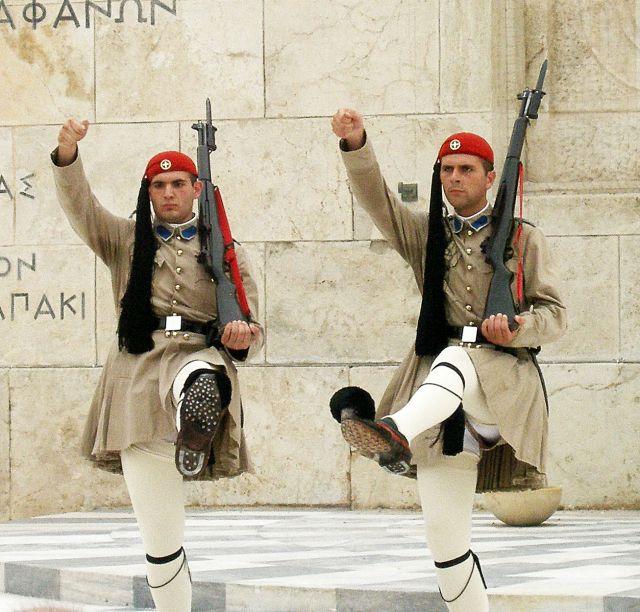 Zdjęcia: Ateny, Żołnierze, GRECJA