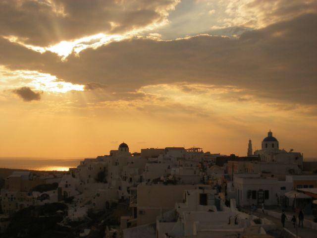 """Zdjęcia: Santorini, Konkurs """"Tuż przed nocą...."""", GRECJA"""