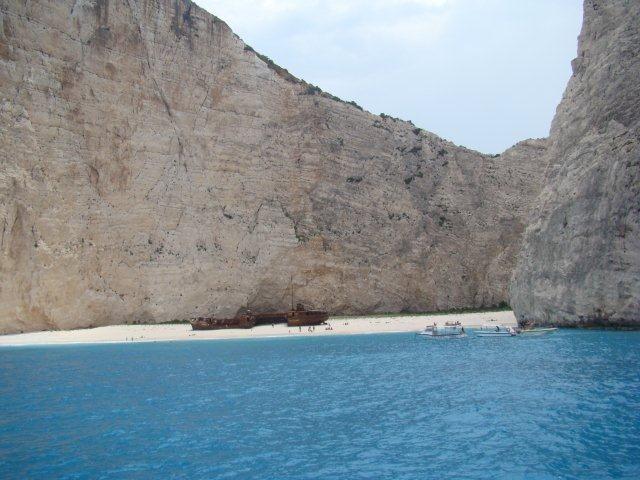 Zdjęcia: Zakynthos-wyspy greckie, Zakynthos - Zatoka Wraku, GRECJA