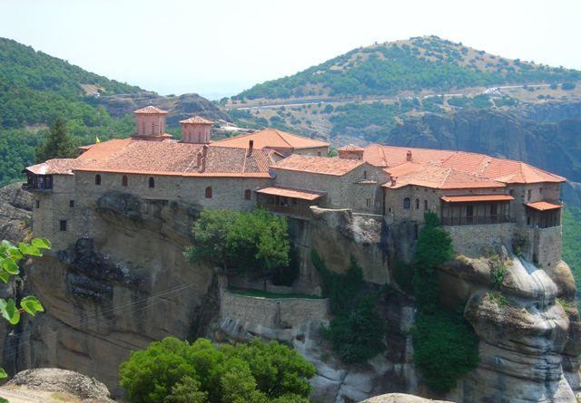 Zdjęcia: Meteory, Klasztor 2, GRECJA