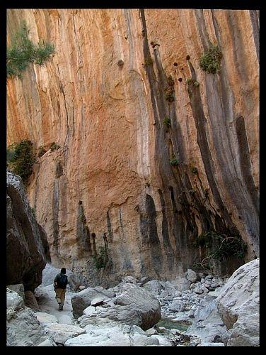 Zdjęcia: Wąwóz Samaria, Kreta, Człowiek i natura... , GRECJA