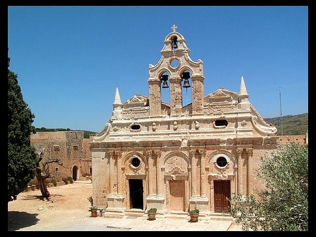 Zdjęcia: Moni Arkadiou , Kreta, Klasztor1, GRECJA