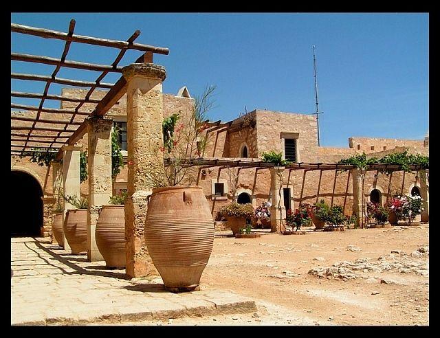 Zdjęcia: Moni Arkadiou , Kreta, Klasztor2, GRECJA