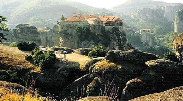 Zdjęcia: Meteora, Klasztor, GRECJA