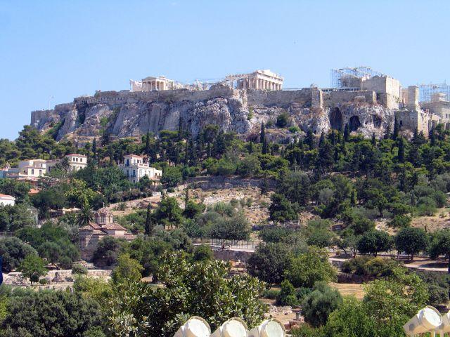 Zdj�cia: ATENY, Widok na Akropol, GRECJA