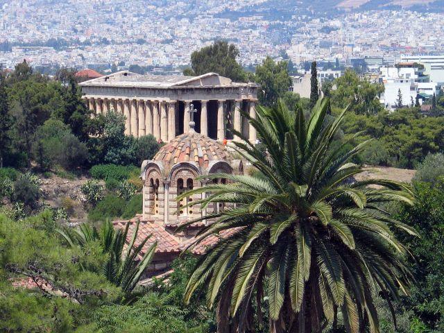 Zdjęcia: Ateny, Świątynia Hefajstosa, GRECJA