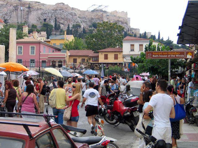Zdjęcia: Ateny, Uliczki Plaki., GRECJA