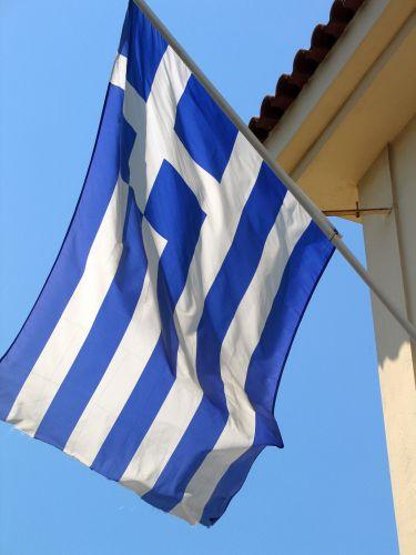 Zdjęcia: Ateny, Flaga , GRECJA