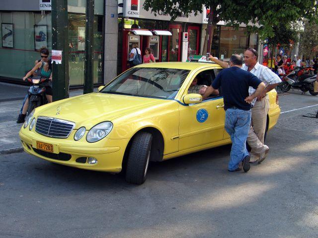 Zdj�cia: Ateny, Taxi ate�skie, GRECJA