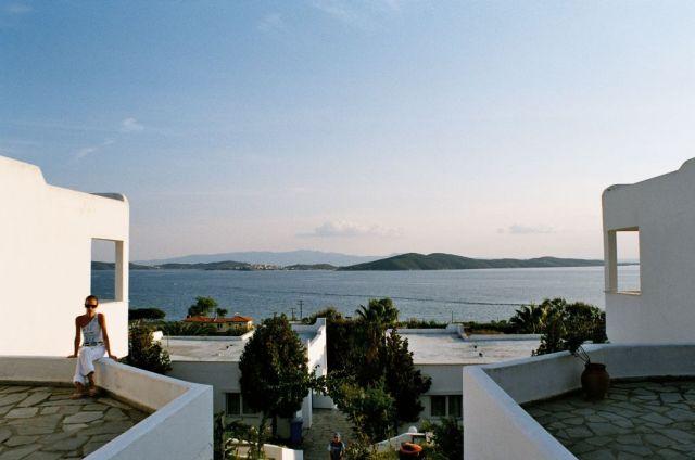 Zdjęcia: hotel, zachód słońca, GRECJA