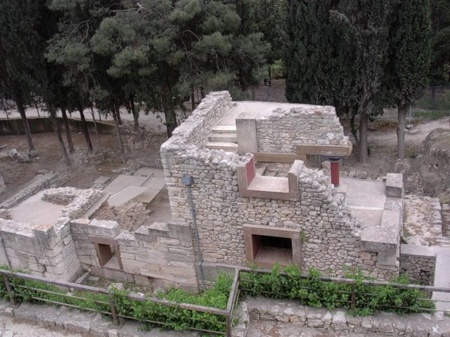 Zdjęcia: Knossos, Kreta, Ruiny w Knossos, GRECJA