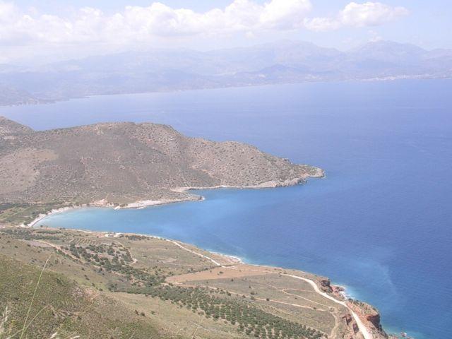 Zdjęcia: W drodze, Kreta, Widok z płaskowyżu, GRECJA