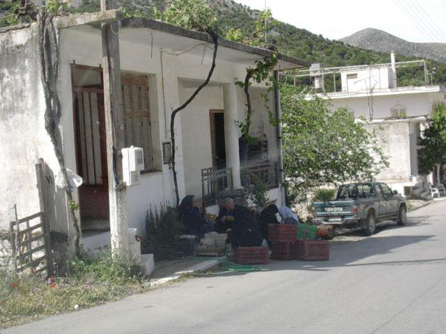 Zdjęcia: Gdzies w górach, Kreta, Spotkanie robocze, GRECJA