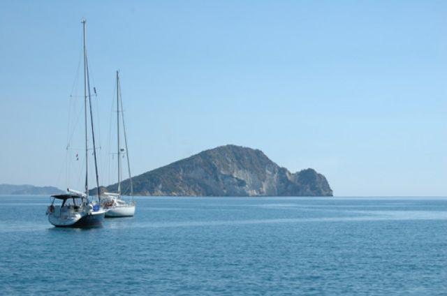 Zdjęcia: Zakynthos , Marathonisi isl, wyspa żółwi, GRECJA