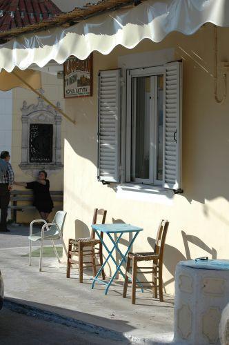 Zdjęcia: Zakynthos cd., Kafejka, GRECJA