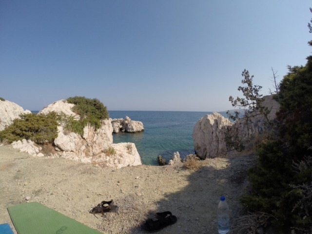 Zdjęcia: Amiros Skala, Rodos, Widok morza z pozycji osoby śpiącej, GRECJA