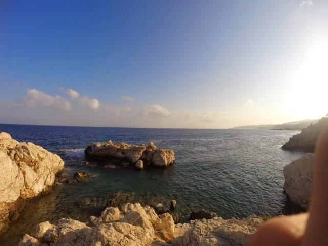 Zdjęcia: Rodos, wielka skała w Amiros Skala, GRECJA