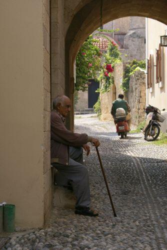 Zdjęcia: Rodos, uliczki Rodos, GRECJA
