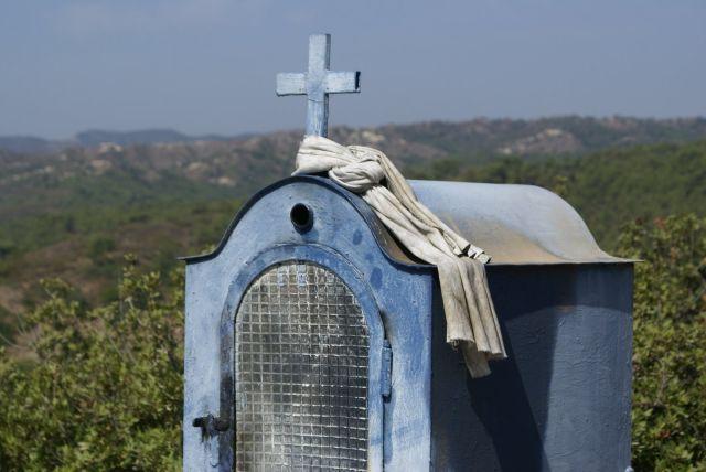 Zdjęcia: Rodos, kapliczka, GRECJA