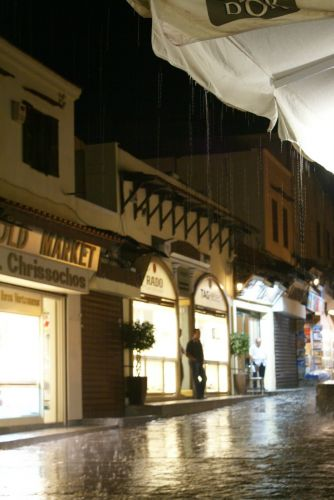 Zdjęcia: Rodos, burza nad Rodos, GRECJA