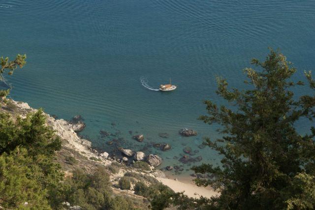 Zdjęcia: Rodos, zatoka Tsambika, GRECJA