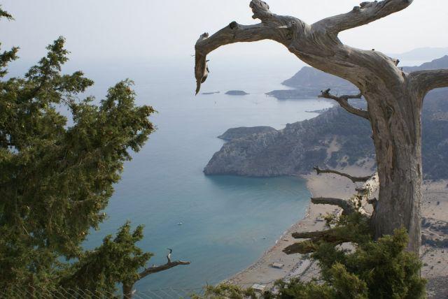 Zdjęcia: Rodos, zatoka Tsabmika, GRECJA