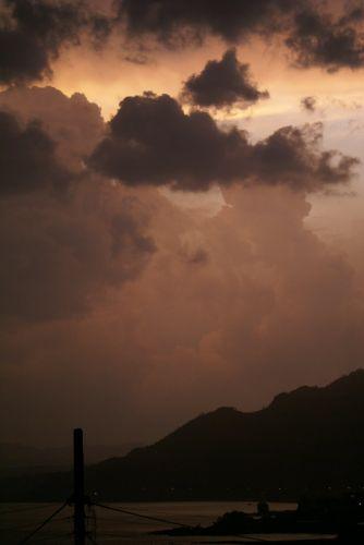 Zdjęcia: Rodos, burza, GRECJA