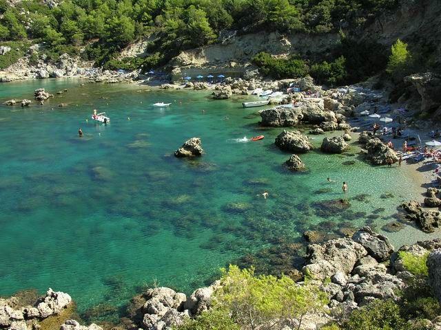 Zdjęcia: RODOS, RODOS, ANTHONY QUINN BAY, GRECJA