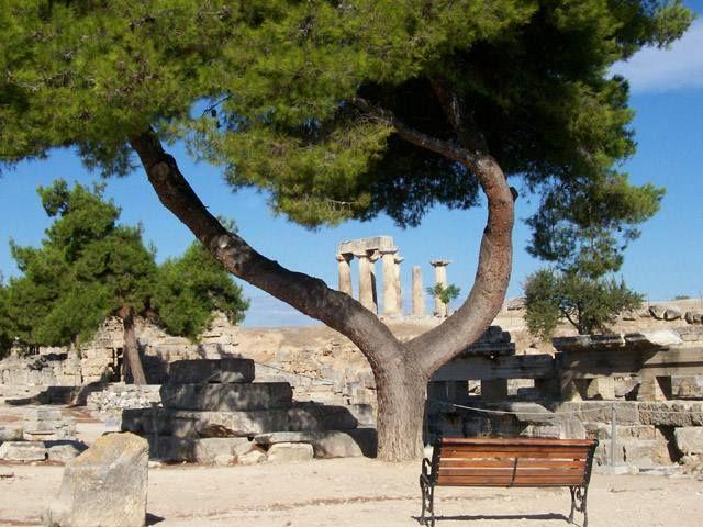 Zdj�cia: Korynt, Staro�ytny Korynt, GRECJA