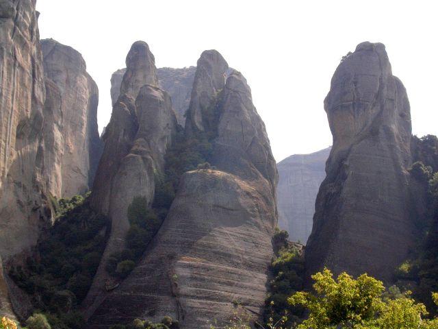 Zdjęcia: Meteory, Tesalia, Skały, GRECJA