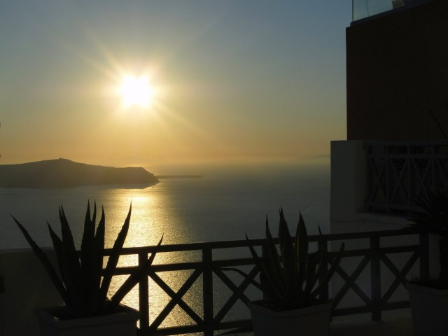 Zdjęcia: Fira, Santorini, Santoryński zachód słońca, GRECJA