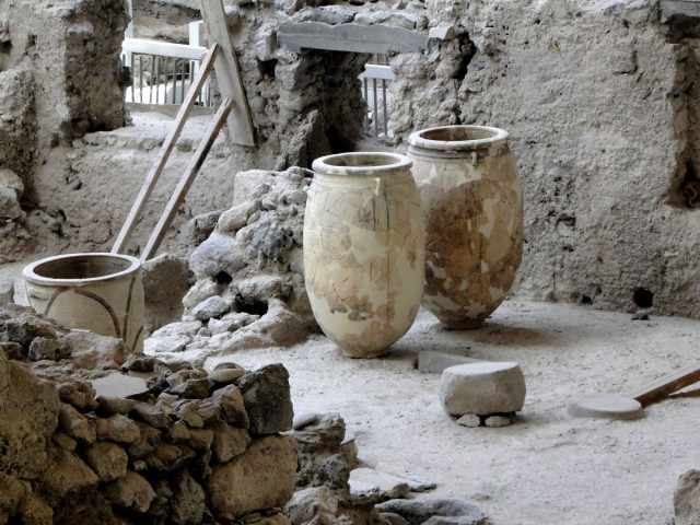 "Zdjęcia: Akrotiri, Santorini, ""Greckie Pompeje"", GRECJA"