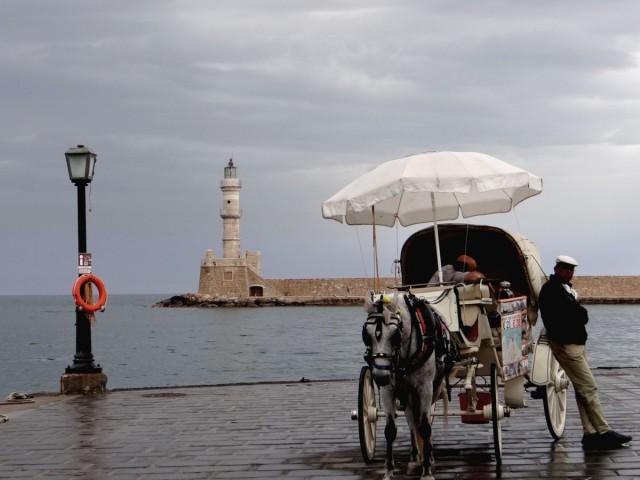 Zdjęcia: Chania, Kreta, Pochmurny dzień w Chanii., GRECJA