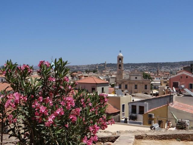 Zdjęcia: Chania, Kreta, Nad dachami Chanii., GRECJA