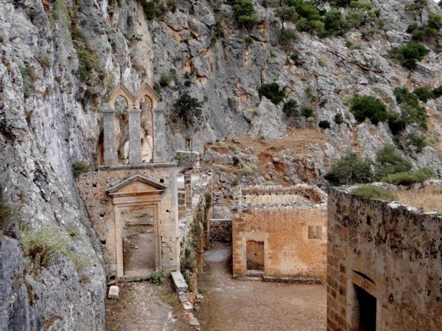 Zdjęcia: Półwysep Akrotiri, Kreta, Migawki z Krety - klasztor Katholiko, GRECJA