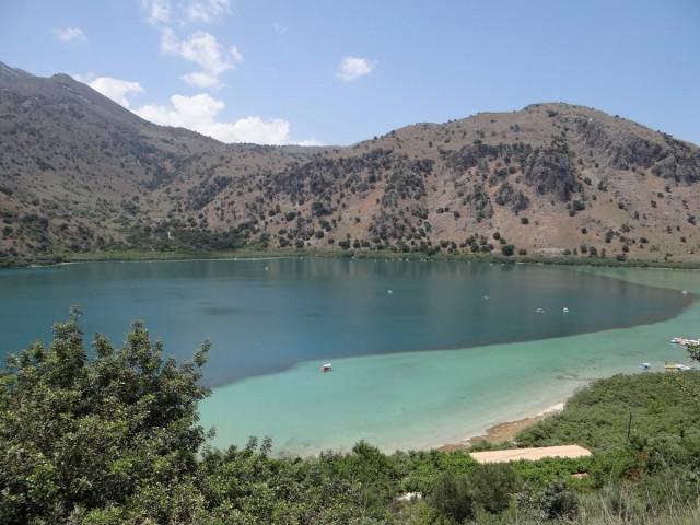 Zdjęcia: Georgioupoli., Kreta, Jezioro Kournas., GRECJA