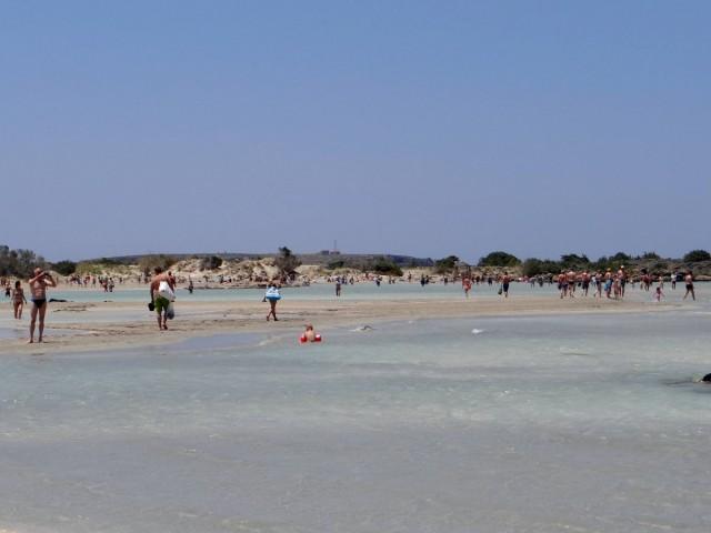 Zdjęcia: Elafonissi, Kreta, Rajska plaża Elafonissi., GRECJA