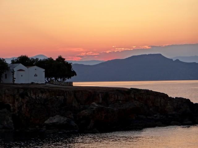Zdjęcia: Kato Daratso., Kreta, Kreteński zmierzch., GRECJA