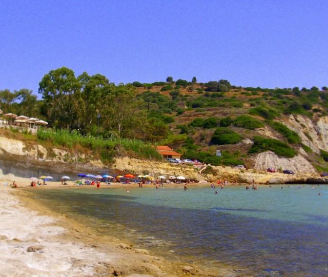 Zdjęcia: Spartia, Kefalonia, Plaża w Spartii, GRECJA