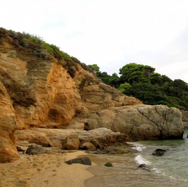 Zdjęcia: Banana Beach, Skiathos, ~Jedna z plaż na Skiathosie, GRECJA
