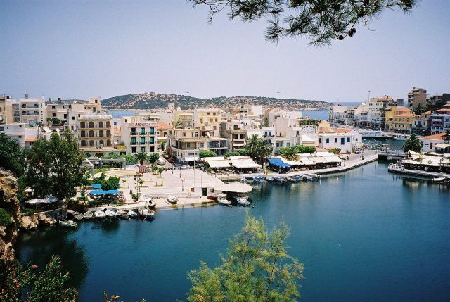 Zdj�cia: Agios Nikolaos, Kreta, GRECJA