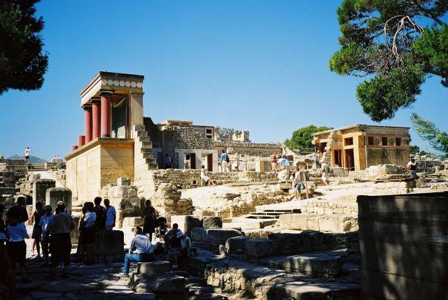 Zdjęcia: Knossos, Kreta, GRECJA