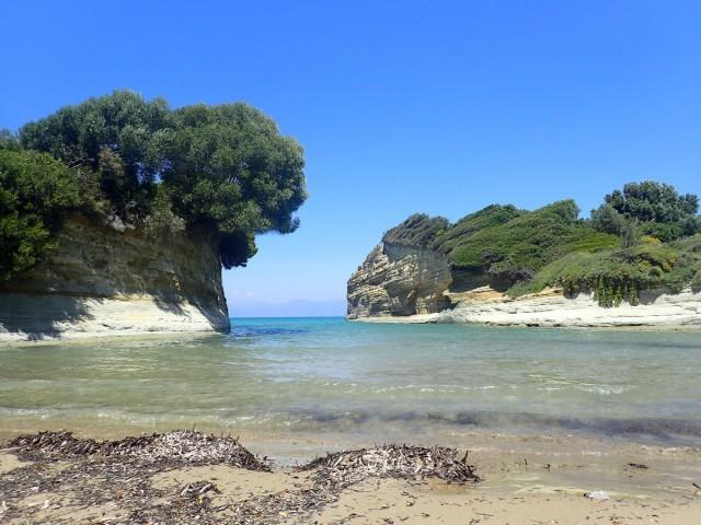 Zdjęcia: Sidari, Korfu, Korfu - kanał miłości w Sidari, GRECJA