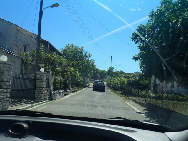 Zdjęcia: Pantokrator, Korfu, Korfu - droga na Pantokrator, GRECJA